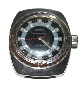 【送料無料】 腕時計 ソwostokボストーク18jussrvtgsoviet wostok vostok man watches 18j waterproof antimagnetic ussr amphibian vtg