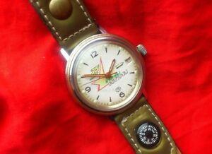 【送料無料】 腕時計 ロシアヴォストークビンテージソビエトウォッチソメンズrare russian watch vostok vintage soviet ussr wristwatch mens