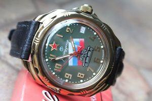 【送料無料】 腕時計 ボストークkomandirskyロシア219435vostok komandirsky russian military wrist watch 219435