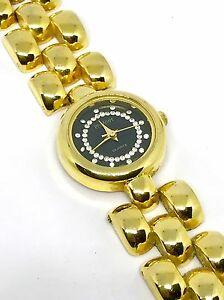 【送料無料】 腕時計 ジョアンリバースクラシックコレクションゴールドトーンリンクestate joan rivers classic collection gold tone link wrist watch