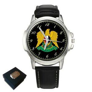 【送料無料】 腕時計 listingsyria syrian coat of arms mens gents wristwatch gift engraving listingsyria syrian coat of arms mens gents wrist w