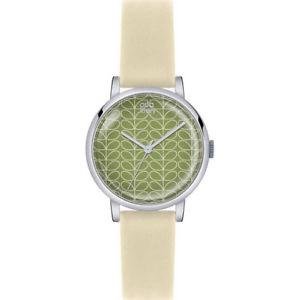 【送料無料】 腕時計 レディースレザーストラップorla kiely patricia ladies leather strap watch ok2033oknp
