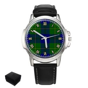 【送料無料】 腕時計 ジョンストンスコットランドタータンチェックメンズウォッチjohnston scottish clan tartan gents mens wrist watch gift engraving
