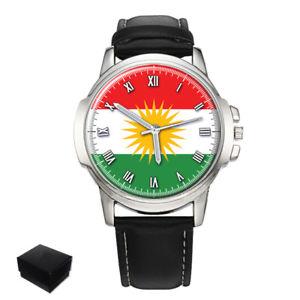 【送料無料】 腕時計 クルドクルドメンズウォッチkurdistan kurdish flag gents mens wrist watch gift
