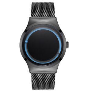【送料無料】 腕時計 クリエイティブファッションデザインクォーツステンレスメッシュカジュアルウォッチbelbi creative fashion personality design men quartz stainless mesh casual watch