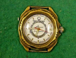 【送料無料】 腕時計 ヴィンテージvostok wostok komandirskie russian military watchvintage watch vostok wostok komandirskie russian military watch