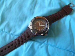 【送料無料】 腕時計 アーネストウォッチミントブラウンクオーツタイプダイブwatch ernest mint condition brown quartz type dive