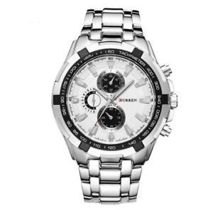 【送料無料】 腕時計 シルバーブランドビジネスカジュアルスポーツ