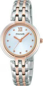 【送料無料】 腕時計 パルサーレディーストーンブレスレットフェーズ×pulsar ladies two tone bracelet watch ph8116x1pnp
