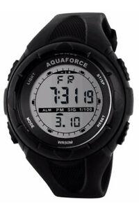 【送料無料】 腕時計 アクアフォースデジタルフィールドウォッチmaqua force digital m1 combat field watch 50m water resistant