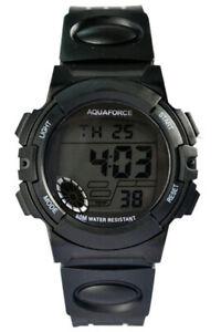 【送料無料】 腕時計 アクアフォースデジタルmaqua force digital aquatic combat watch 50m water resistant