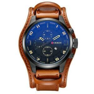 【送料無料】 腕時計 メンズトップブランドスポーツクォーツcurren mens top brand luxury army military sports male quartz watch