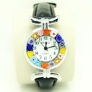 【送料無料】 腕時計 ムラーノヴェネツィアガラスストラップウォッチ