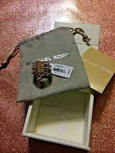 【送料無料】 腕時計 ミハエルクリスタルクロスリングゴールドサイズローズauthentic michael kors crystal embellished crossover ring rose gold size 7