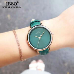 【送料無料】 腕時計 ファッションシンプルレッドレザーストラップwomen fashion wrist watch quartz simple red leather strap waterproof wristwatch