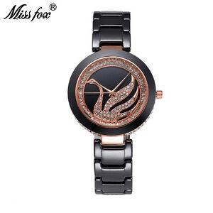 【送料無料】 腕時計 フォックスラインストーン