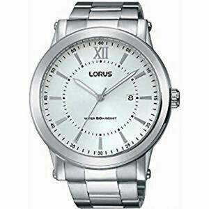 【送料無料】 腕時計 ステンレススチールlorus gents stainless steel watch rh905fx9lnp