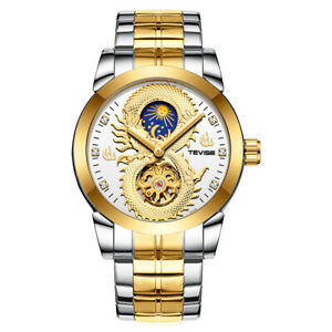 【送料無料】 腕時計 blesiyaステンレスアナログblesiya luxury automatic watch stainless steel analog wristwatch waterproof