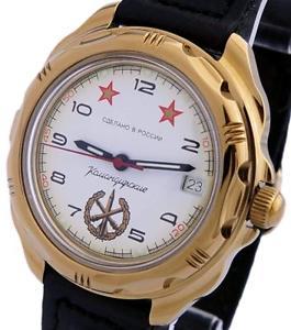 【送料無料】 腕時計 ボストークkomandirskie2190752414aロシアvostok komandirskie 219075 2414a military russian commander watch