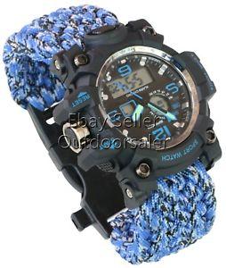 【送料無料】 腕時計 mens lcdディジタルアラームクオーツスポーツblue mens lcd digital water resistant date alarm day quartz sport wrist watch
