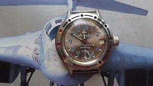 【送料無料】 腕時計 ヴォストークwostok  vostok  amphibian  wostok 076