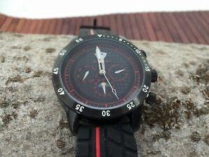 【送料無料】 腕時計 ブリティッシュレーシングクラブカレンダーウォッチシリコンストラップbritish racing club xxl calender watch automatic silicone strap