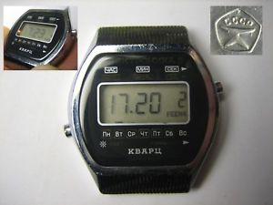 【送料無料】 腕時計 ソビエトメンズussr 1986 elektronika 5 mens wrist watch