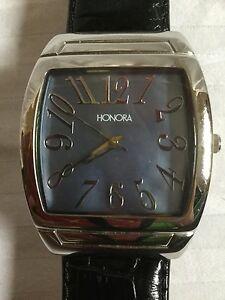 【送料無料】 腕時計 honoraステンレスクオーツhonora womens quartz mother of pearl stainless steel watch
