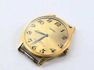 【送料無料】 腕時計 ソソヴィンテージシンsoviet ussr gold plated vintage watch chaika serviced working au 10 thin