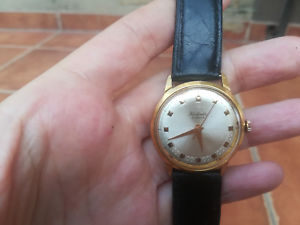 【送料無料】 腕時計 ビンテージrare vintage raketa, 16 jewels, cal 2609, gold plated 20m