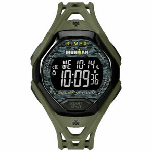 【送料無料】 腕時計 ラップウォッチアラームtimex tw5m23900, mens ironman 30lap resin watch, sleek, alarm, indiglo