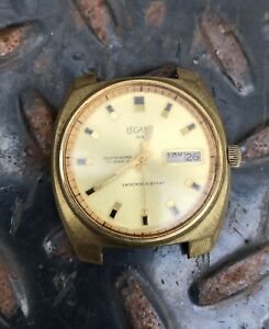 【送料無料】 腕時計 ビンテージセルフvintage legant qs automatic self winding wristwatch working