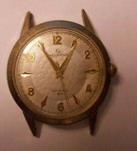 【送料無料】 腕時計 スプリングメンズヴィンテージhelbros invincible spring mens vintage watch runs properly