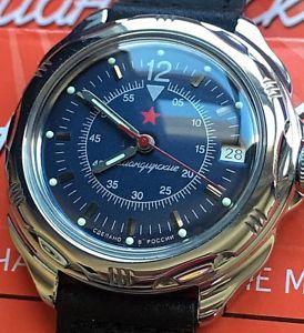 【送料無料】 腕時計 ヴォストークロシアウォッチvostok komandirskie russian military watch 211398
