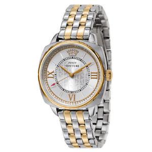 【送料無料】 腕時計 ジューシークチュールボークォーツjuicy couture 1901271 womens beau twotone quartz watch