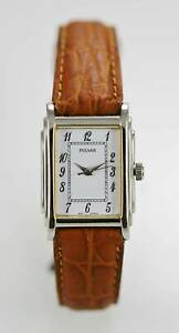 【送料無料】 腕時計 パルサーwomensステンレスシルバーバッテリークオーツpulsar watch womens stainless steel silver leather brown battery white quartz