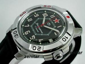 【送料無料】 腕時計 ロシアヴォストークミリタリーウォッチ#russian vostok komandirskie military watch 411744