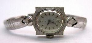 【送料無料】 腕時計 レディースエルギンkゴールドkゴールドストラップladies vtg elgin 10k gold filled wristwatch 10k gold filled strap not working **