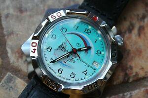 【送料無料】 腕時計 ヴォストークロシア#vostok komandirsky russian military wrist watch 531300