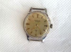 【送料無料】 腕時計 ヴィンテージスイスタニスvintage swiss tanis