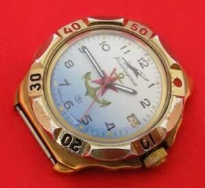 【送料無料】 腕時計 ロシアメンズヴォストークコマンダーrussian military mens wrist watch vostok boctok komandirskie commander 17 jewels