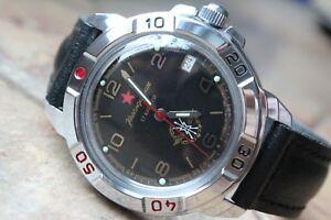 【送料無料】 腕時計 ヴォストーク#vostok komandirsky military wrist watch 431296
