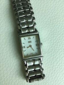 【送料無料】 腕時計 レディースクロスサファイアクリスタルスイスステンレススチールladies cross sapphire crystal swiss elegant stainless steel watch excellent