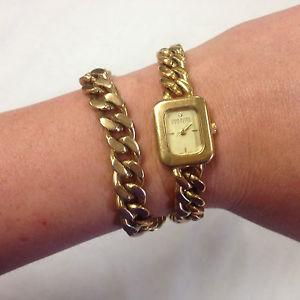 【送料無料】 腕時計 ジョアンリバースチェーンファッションウォッチjoan rivers classics wraparound ladies goldtone chain beautiful fashion watch