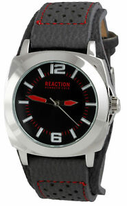 【送料無料】 腕時計 ケネスアナログメンズスチールグレーウォッチストラップkenneth cole reaction analog mens steel watch grey strap 10008536