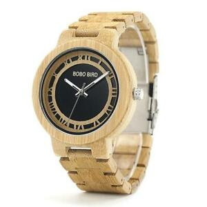 【送料無料】 腕時計 ボボウォッチbobo bird wooden watch men women wood watches