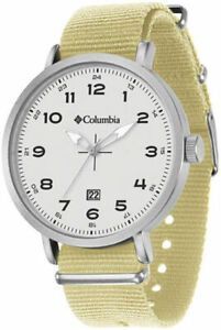 【送料無料】 腕時計 コロンビアfieldmaster iiiナイロンca023280mens columbia fieldmaster iii sierra tan nylon strap watch ca023280