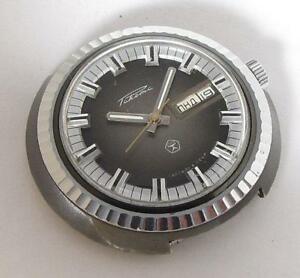 【送料無料】 腕時計 ソソメンズunique rare raketa flying saucer ufo soviet ussr mens wristwatch 1980s serviced