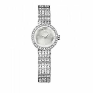 【送料無料】 腕時計 ジューシークチュールソフィアクリスタルアクセントウォッチjuicy couture womens 1901180 sophia silvertone crystal accent watch