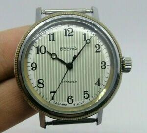 【送料無料】 腕時計 ボストークソビンテージソサービス watch vostok ussr vintage soviet 2409 *serviced*